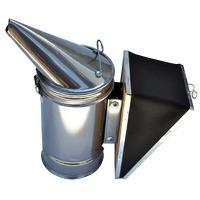 Дымарь пасечный со съемным мехом, окрашенный порошковой краской - фото