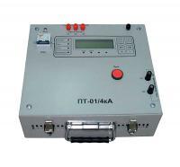 Испытательная установка для проверки защит с большим током – ПТ-01/4кА фото