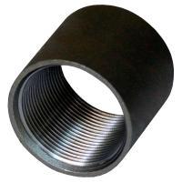 Муфты черные стальные - фото