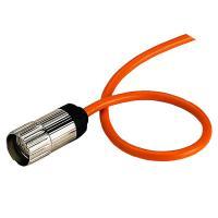 Разъём и кабель 2м (PCV 18x0,14мм2) - фото