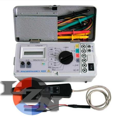 Цифровой вольтамперфазометр 4333 - фото