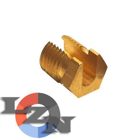 Гайка термопары разрезная (отверстие М10х1) - фото