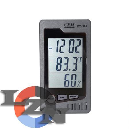 Фото гигрометра-термометра DT-322