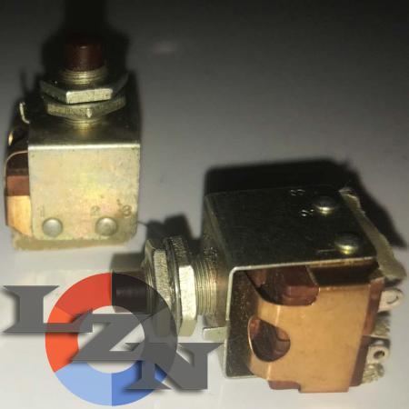 Кнопка малогабаритная КМ2-1 (двухполюсная) - фото №3