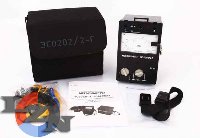 Мегаомметр ЭС0202/2Г (комплект) фото1