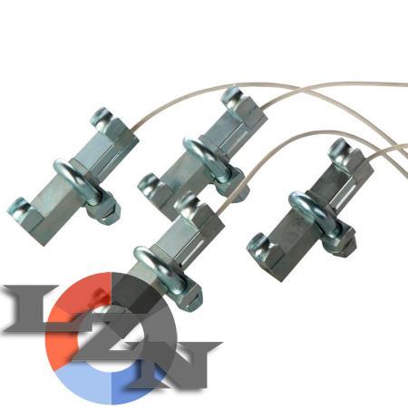 Устройство контроля загрузки лифта УПС-3 с датчиками на канаты - фото №2